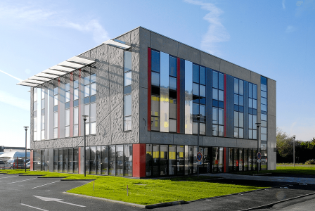 Pôle médical Clinique l'Anjou, <span class=infosup>Angers Projet livré 2011</span>