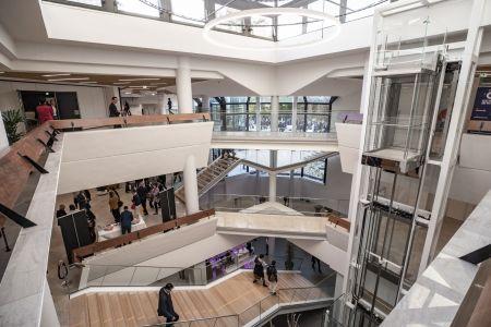 Inauguration du Centre de Congrès Jean Monnier.
