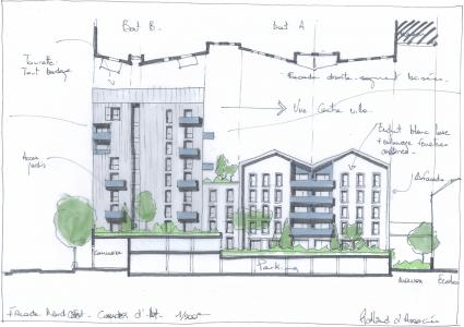 Croquis-facade-coeur-ilot-cote-nord