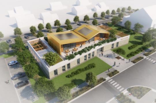 Maison de Quartier Saint Cyr sur Loire aer 03