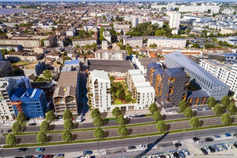 Résidence Amoretti prend forme Bordeaux